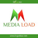 Medial Load Logo Template Vector Fee Download
