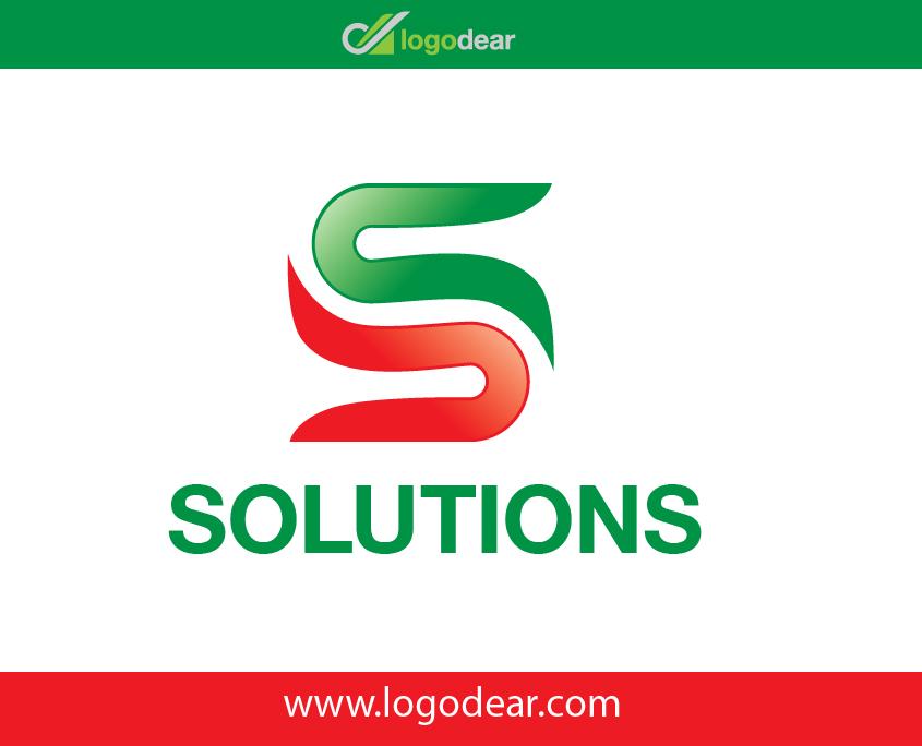 Solutions Creative S Logo S Letter Vector Icon Design Ai File Adobe Illustrator