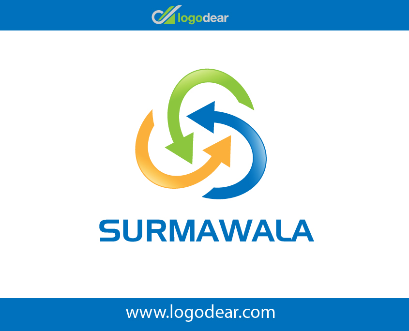Surmawala Arrows Recycling Icon Original Vector File Free Download