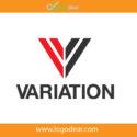 Variation Adobe Illustrator Vector Logo Design V Letter Symbol Free Download