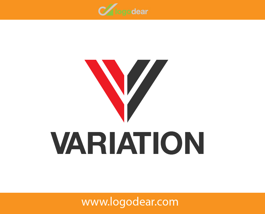 Variation Adobe Illustrator Vector Logo Design V Letter Symbol Free Download
