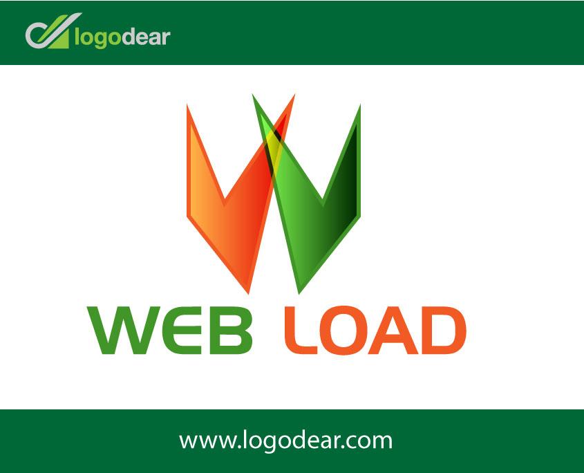 Web Logad Logo Design