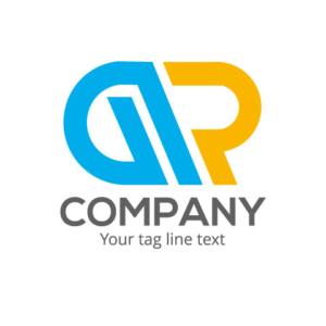 Professional letter g r logo design