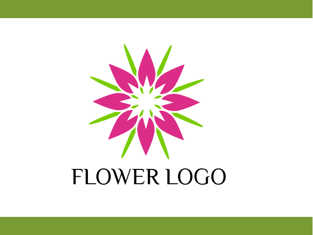 Flower Logo Template Vector Feee Download