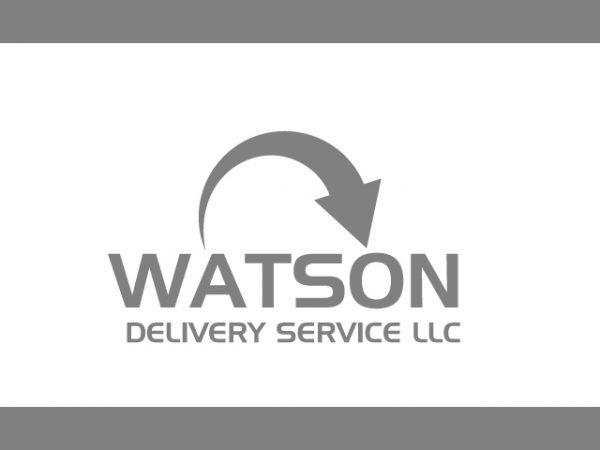 Gift delivery logo design vector