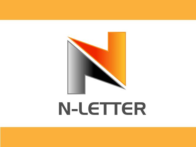 Lette N and Lette Z logo design vector