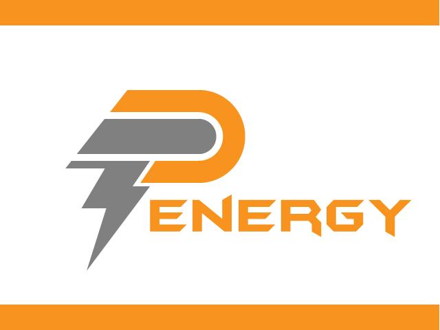 Fast Energy Logo Design Letter P