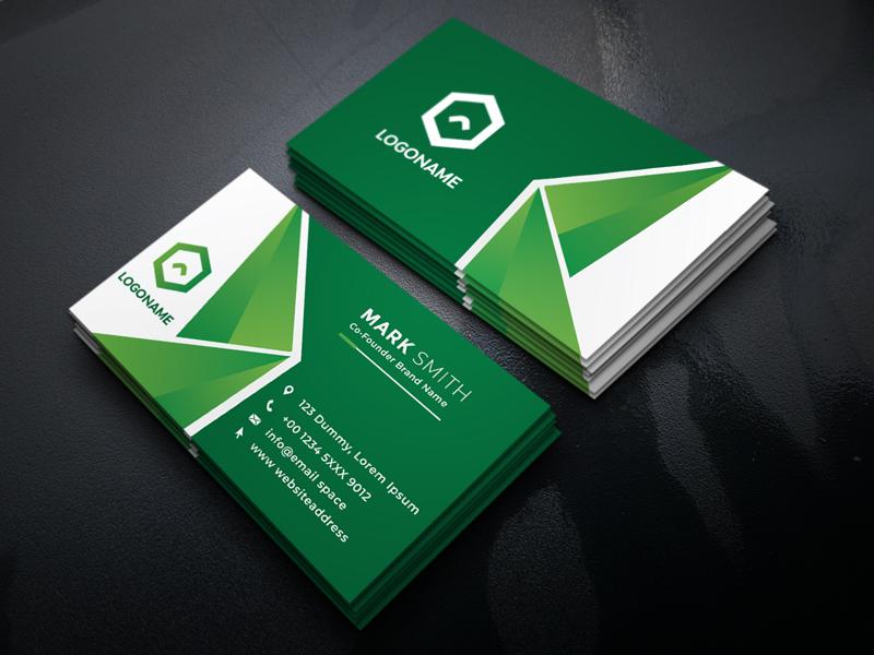 Modern Business Card Design Fee Download