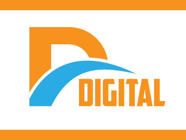 Vector Letter D Isolated Logo Design
