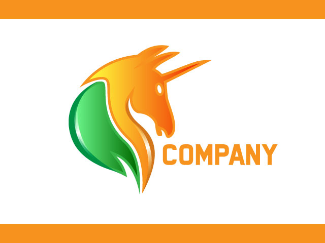 Horse Racing Or Care Company Modern Logo