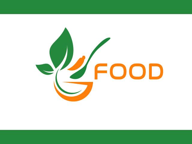 Food Logo Design Using Fruits And Vegetables