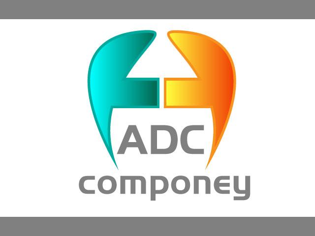 Letter A D C Company Free Vector Logo Design