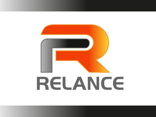 Modern Relace Letter R Logo Design Vector.