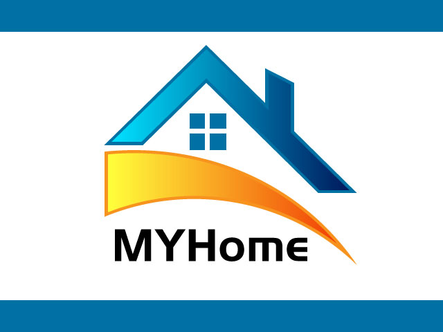 MyHome Properties Vector Free Logo Design