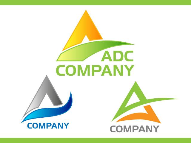 Clean Simple Letter A Logo Design