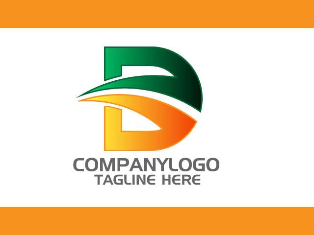 Letter D Logo Design Vector
