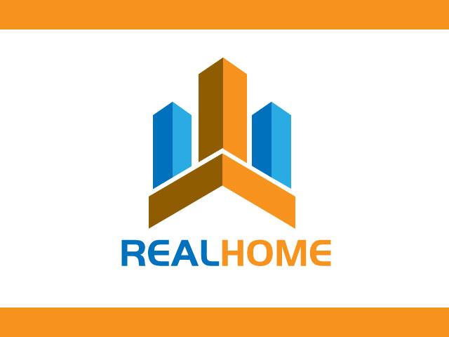 Real Home Digital Media Logo Design