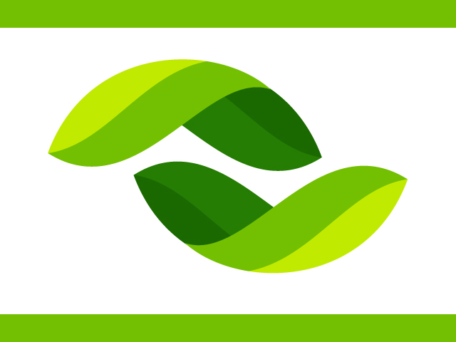Company Logo Design With Tree Leaves
