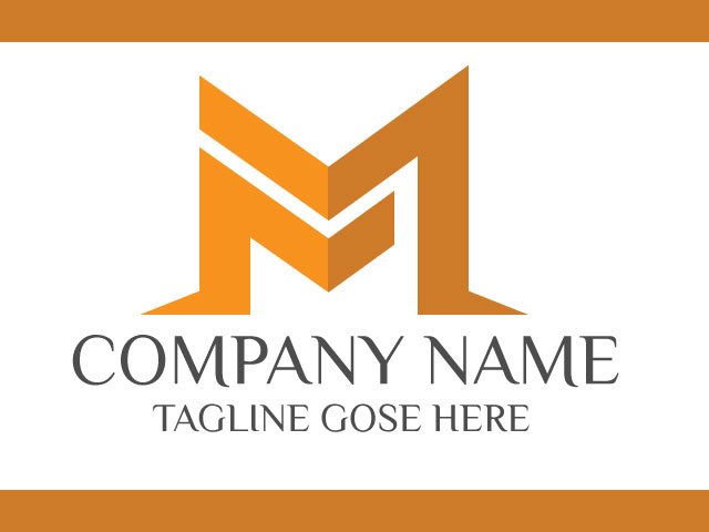 Modern Letter M Logo Design Vector