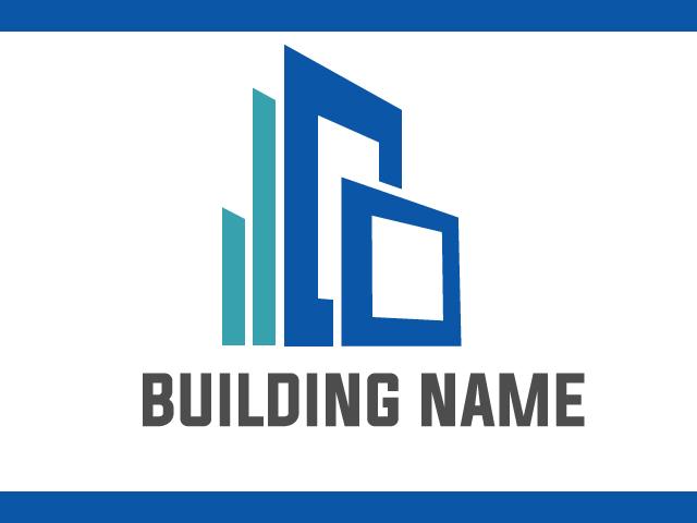 Building Construction Business Logo Design