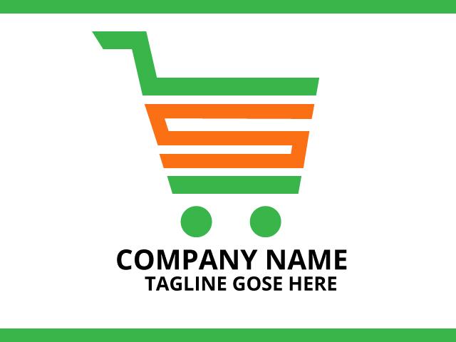 Shopping Company Logo Design Idea