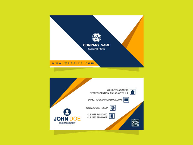 3D Free Business Card Download
