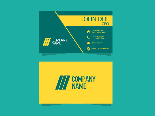 Creative Visiting Card Free Download