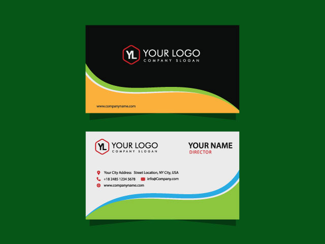 Modern Business Card Design Idea For Free Down