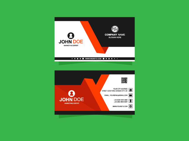 very creative business card download for free